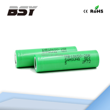 Authentic samsung 25r battery 18650 lithium battery with battery charger