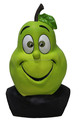 Latex TV Cartoon advertising Funny Costume Accessory Fruit pear yellow Mask