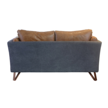 Distressed Waiting Room Vintage Leather Sofa <strong>Furniture</strong>