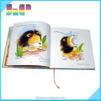 cartoon children story book printing childrens in shenzhen waterproof children book