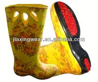 New Injection half wellington boots for outdoor and promotion,light and comforatable
