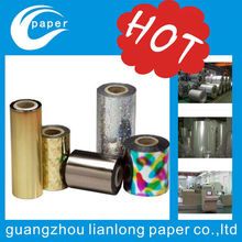 Metallic Hot Stamping Foil for textile, Textile Foil, Fabric Foil