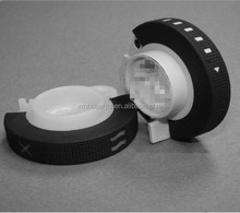 ISO Injection Molded High Precision Silicone Rubber Plastic Cap NDA Injection OverMoulded Dual Colors Customized Caps