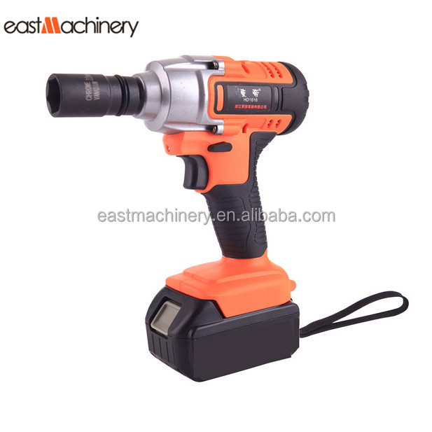 260N.M Electric Impact Wrench For Tire 18V Li-ion Battery Electric Torque Wrench