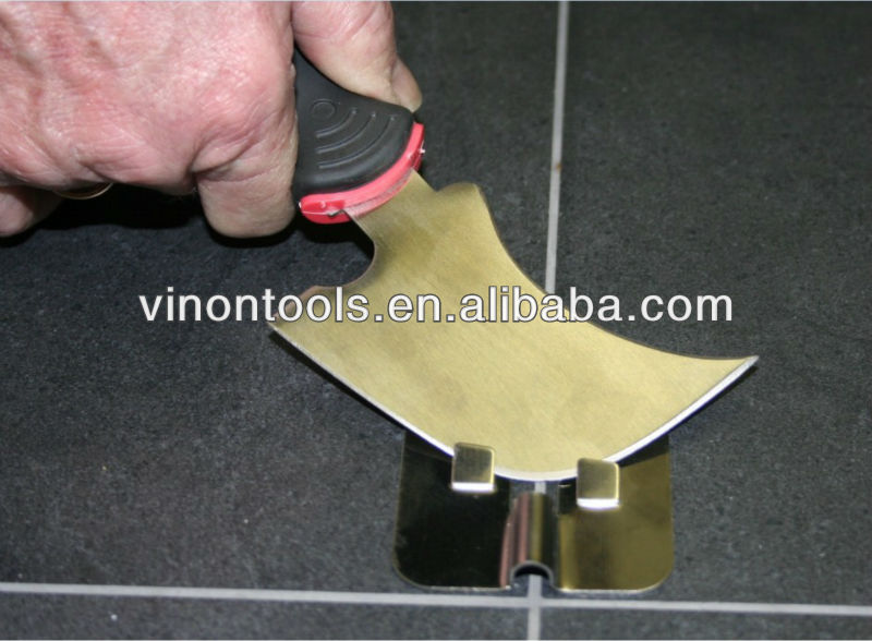 Professional Quarter Moon Knife, Linoleum Knife (Carpet Tools)