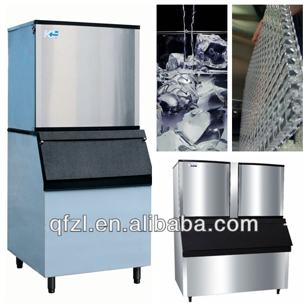 cube ice machine with stainless steel 304 material