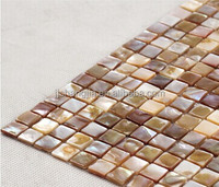 Hot Sale , Seamed Mixed Color Mop Shell Mosaic Wall Tile
