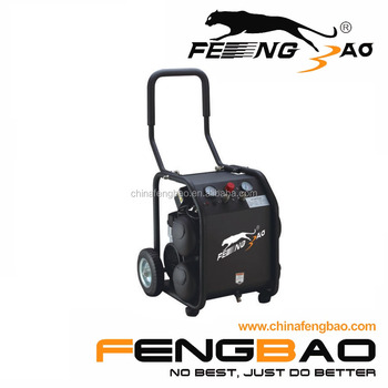 2020 Fengbao 1.5kw/2hp silent oilfree air compressor