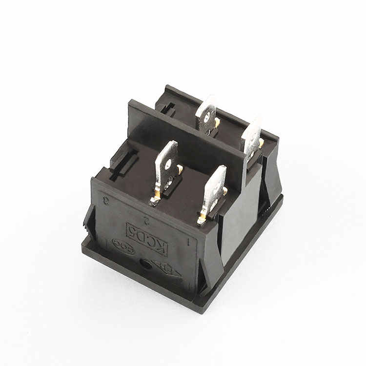 KCD5 6A 250VAC momentary rocker switch 4 pin on off