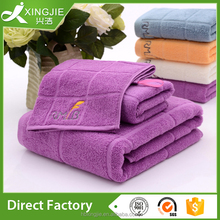 new designer factory price embroidery facial spa hotel stock lot towel 100% cotton with loop