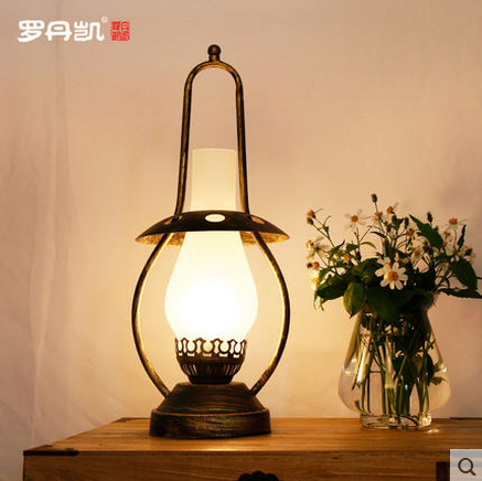 Dinner portable table lamps for family room