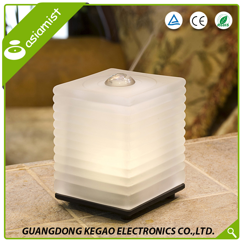 Asiamist wholesale far east electric mist maker aroma diffuser with glass cover