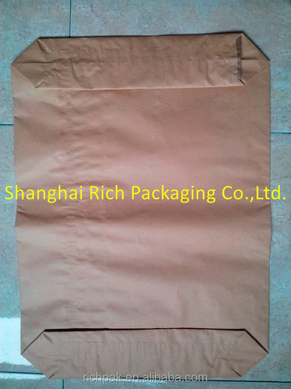 empty 50kg cement bag from factory
