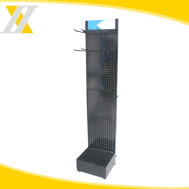 Promotional OEM Customized Supermarket Advertising Metal Display Stand