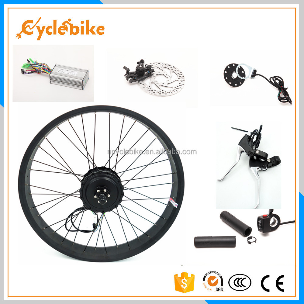 High quality ebike 48v electric bike convension kit 750w dc motor brushless with 25amp smart controller