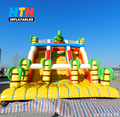 giant inflatable jungle water slide