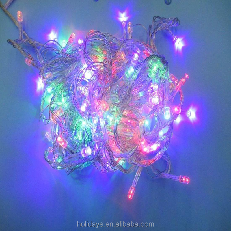 Hair-raising Modern 8 Modes 23M 300 LED Nightlight Decoration Christmas Tree Waterproof Color Multi-Color with US Plug 110V