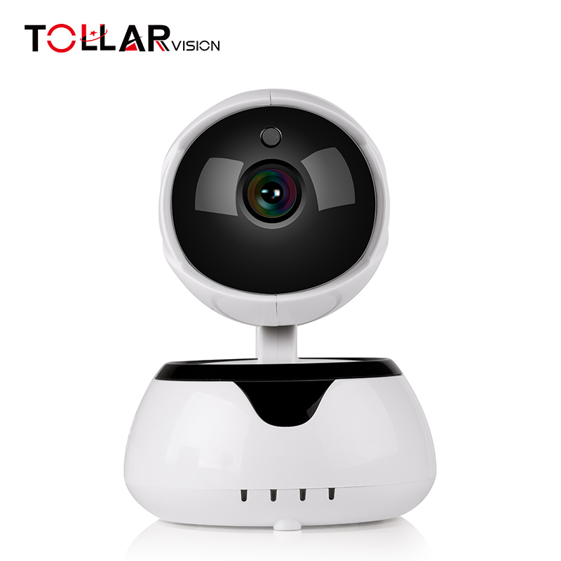 Single antenna Support TF Card Two-way Voice pan tilt 720P wifi ip camera with Network port
