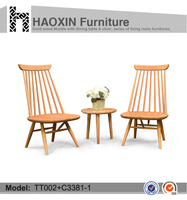 garden furniture cafe chair wooden dining chair furniture