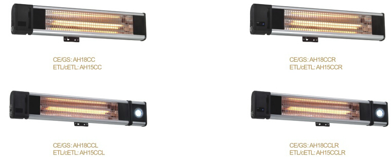 Ceiling and Wall Mounted Electric Heater CE,CB,GS,EMC,RoHS Certification Infrared Heater Outdoor