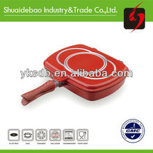 German Die-casting ceramic indian tawa pan with on stick