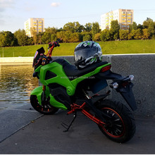 Adult 2000W electric motorcycles in the Russian market