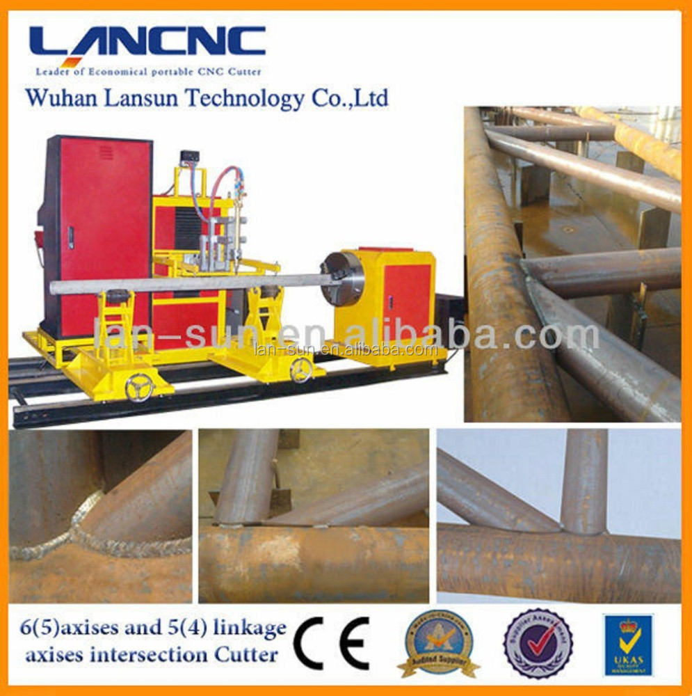 high efficiency stainless steel pipe cutting and beveling machines with top quality