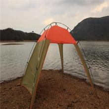 Plastic inflatable crystal bubble tent moto tent