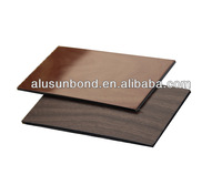 exterior wood composite cladding material ACP
