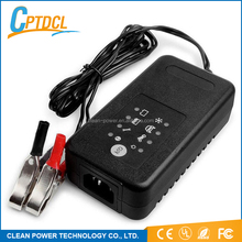 New Products High Frequency Auto Charger Lead Acid 12V 24V 36V 48V Dynamo Charger Intelligent Battery Charger