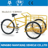 tricycle two front wheels/tricycle cargo bike/triporteur/clamber 9033