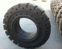 High loading long tyre life! OTR solid tyres 17.5-25 wheel loader application
