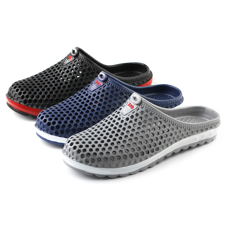 Wholesale mens summer breathable shoes garden EVA clogs platform beach non slip <strong>sandals</strong>