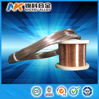 stable resistance copper nickel alloy CuNi 2 coil wire