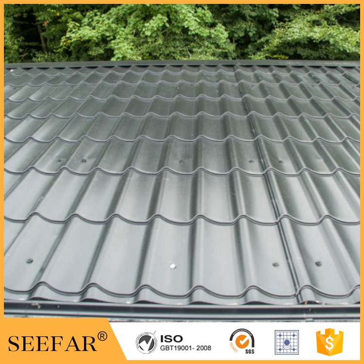 Waterproof synthetic resin pvc roofing