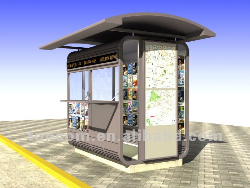 newspaper booth for sale