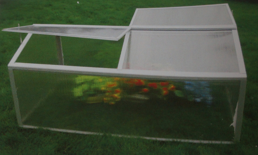 strawberry tunnel aluminum greenhouse