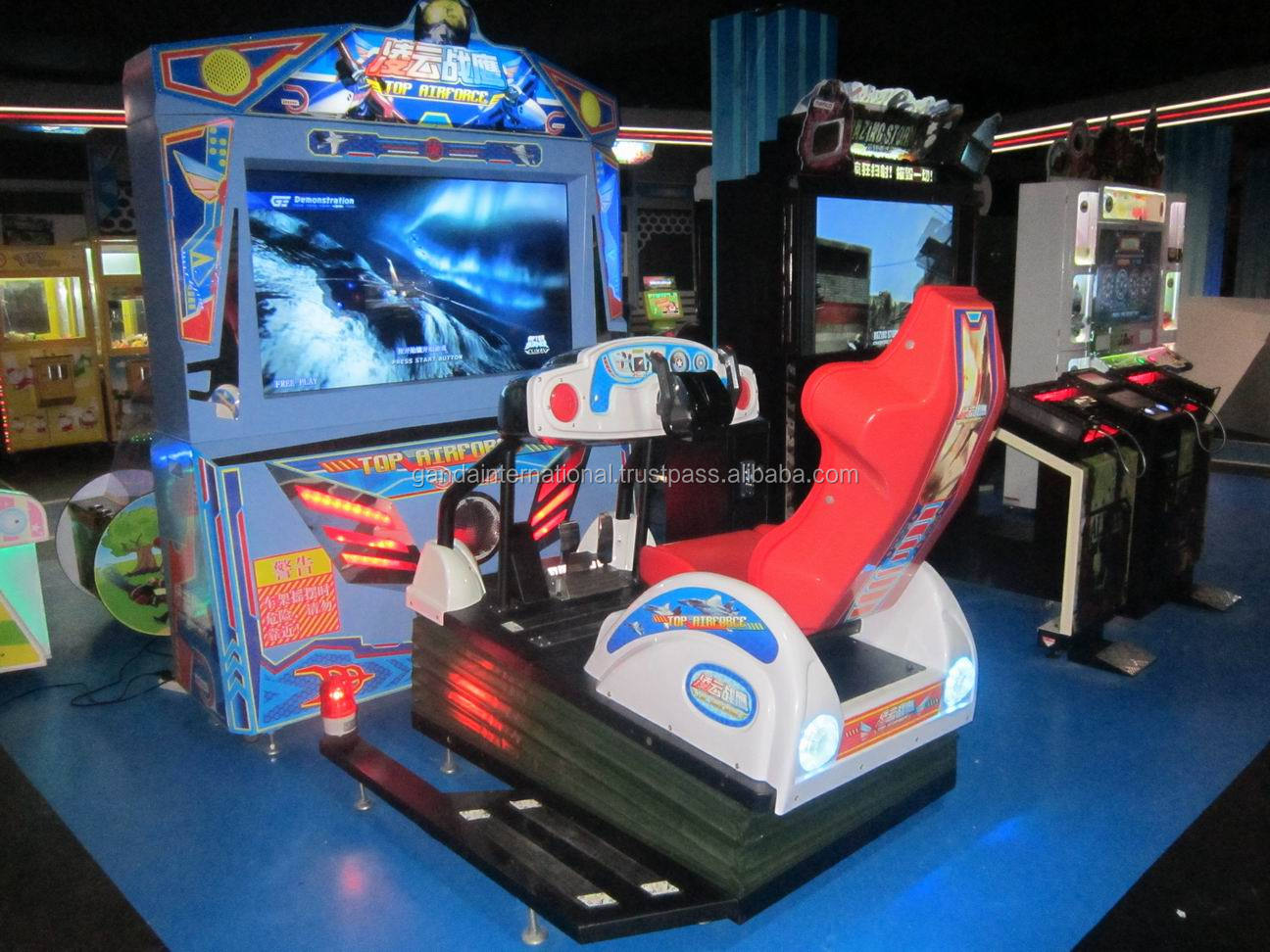 Arcade Amusement Video Gun Shooting Game Machine