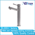 ABLinox 2018 stainless steel 304 casting faucet body basin faucet basin two handle mounted faucet