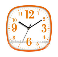 8 Inch Wall Clock WH-6747 Handicraft Wall Clock Special Dial Design Gifts Under 1.00