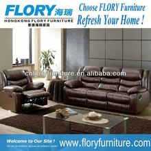 2013 Top Quality recliner laptop table In Leather