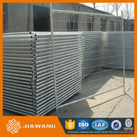 china supplier construction safety galvanized temporary fences