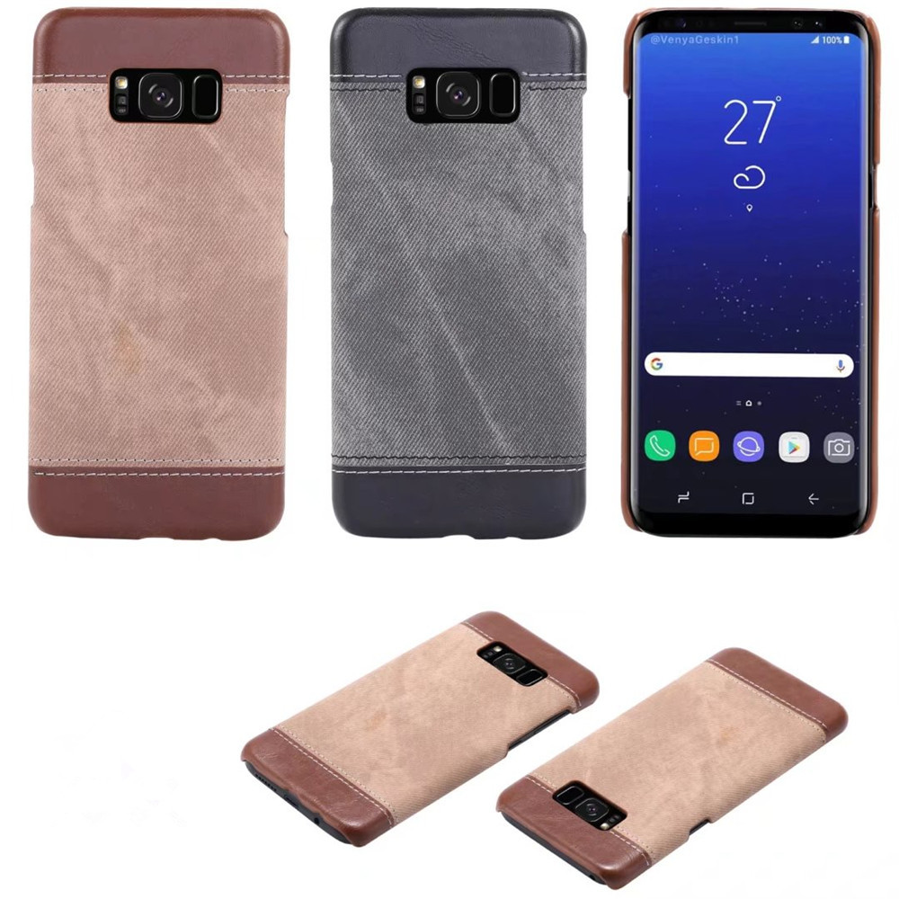 New fashion and super cool jeans TPU material fabric mobile phone tpu and pet material phone case for Samsung Galaxy S7 Note8