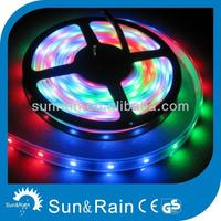 CE RoHS good quality 3528 flexible rgb waterproof led strip light 12v christmas iron reindeer