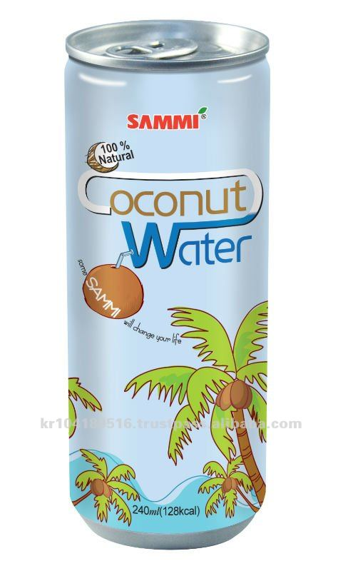 """Flavors of sammi"" Coconut water 240ml"
