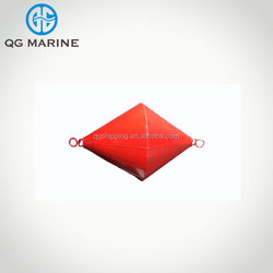 Steel sea mooring buoy float