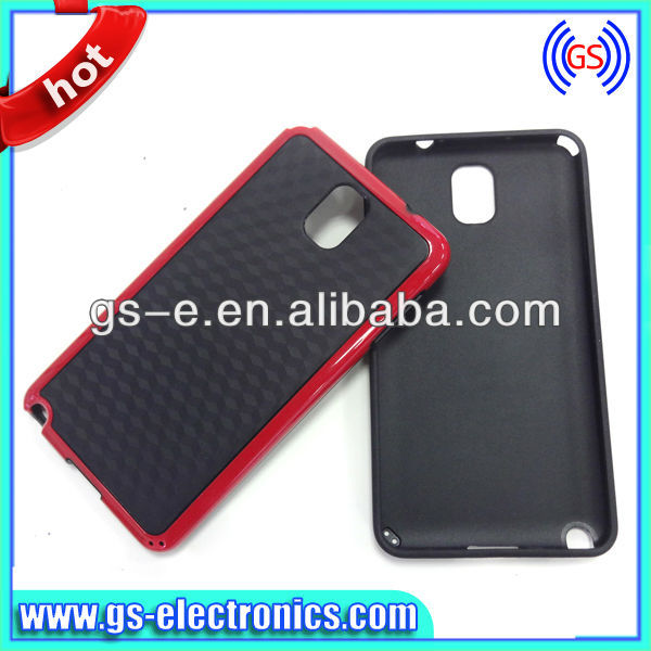 Double Color TPU Case for Samsung Galaxy Note 3 Note III N9000 N9005 Hornet Series Skin Soft Case