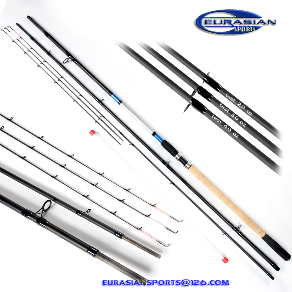 Mate feeder 390HH upto 300g 3+3 tips spigot join part system top quanlity heavy action high carbon feeder fishing rod