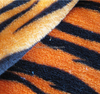 High Quality animal skin fabric print material for home textile