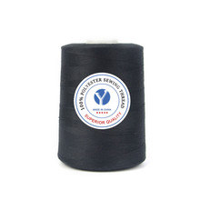 100% high quality virgin spun polyester thread for sewing